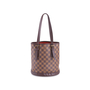 Authentic Vintage Louis Vuitton Marais Damier Ebene Petit Bucket (PSS-636-00005) - Thumbnail 2