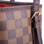 Authentic Vintage Louis Vuitton Marais Damier Ebene Petit Bucket (PSS-636-00005) - Thumbnail 4