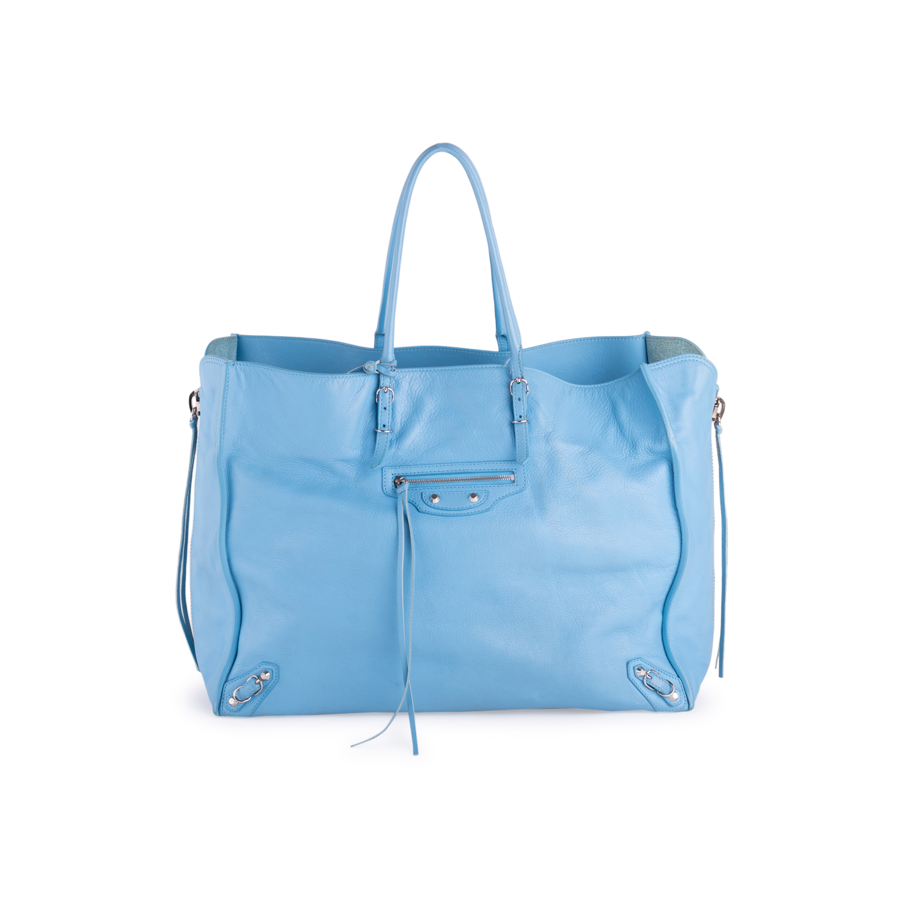 73bb0b4304d Authentic Second Hand Balenciaga Papier A4 Zip Around Tote Bag  (PSS-636-00007) - THE FIFTH COLLECTION