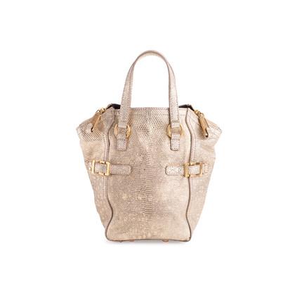 Authentic Pre Owned Yves Saint Laurent Lizard Mini Downtown Bag (PSS-636-00012)