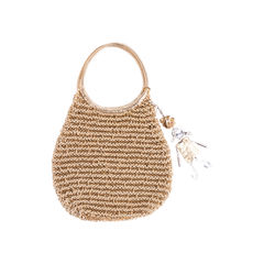 Keychain Wire Suede Bag