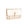 Authentic Second Hand Ling Wu Small Python Clutch Wallet (PSS-636-00019) - Thumbnail 1