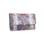 Authentic Second Hand Ling Wu Two Tone Python Clutch (PSS-636-00020) - Thumbnail 1