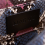 Authentic Second Hand Ling Wu Two Tone Python Clutch (PSS-636-00020) - Thumbnail 6