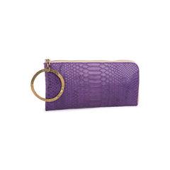 Johnny ramli purple python zip wristlet 2?1551165502