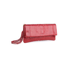 Johnny ramli red python foldover clutch 2?1551165567