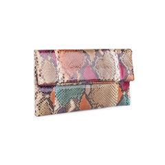 Unbranded snakeskin envelope clutch 2?1551165761