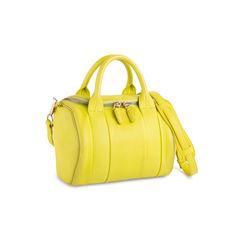 Alexander wang acid yellow rockie satchel 2?1551171597