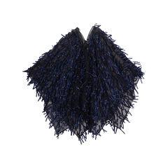 Dries van noten sheer poncho blue 2?1551173926