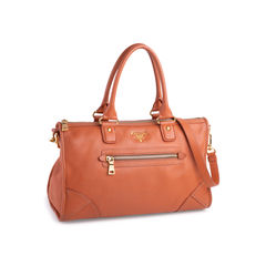 Prada vitello daino satchel orange 2?1551174083
