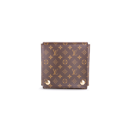 Authentic Pre Owned Louis Vuitton Monogram Folding Jewellery Case (PSS-168-00010)