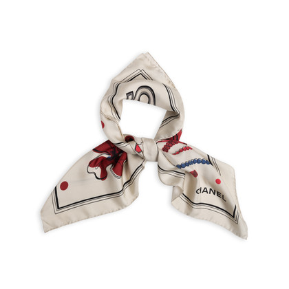 Authentic Second Hand Chanel Chanel No5 Silk Scarf (PSS-168-00009)