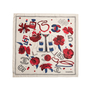 Authentic Second Hand Chanel Chanel No5 Silk Scarf (PSS-168-00009) - Thumbnail 1