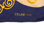 Authentic Second Hand Céline Logo and Chains Scarf (PSS-168-00012) - Thumbnail 5