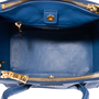 Authentic Second Hand Prada Ostrich Struzzo Double Zip  Satchel (PSS-444-00014) - Thumbnail 5