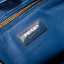 Authentic Second Hand Prada Ostrich Struzzo Double Zip  Satchel (PSS-444-00014) - Thumbnail 6