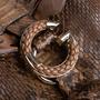 Authentic Second Hand Gucci Python Shoulder Bag (PSS-444-00015) - Thumbnail 4