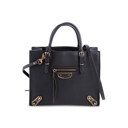 403167863431 Authentic Second Hand Balenciaga Papier A4 Metallic Edge Mini Bag  (PSS-623-00003