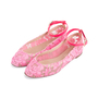 Authentic Second Hand Valentino Lace Ballet Flats (PSS-623-00015) - Thumbnail 3