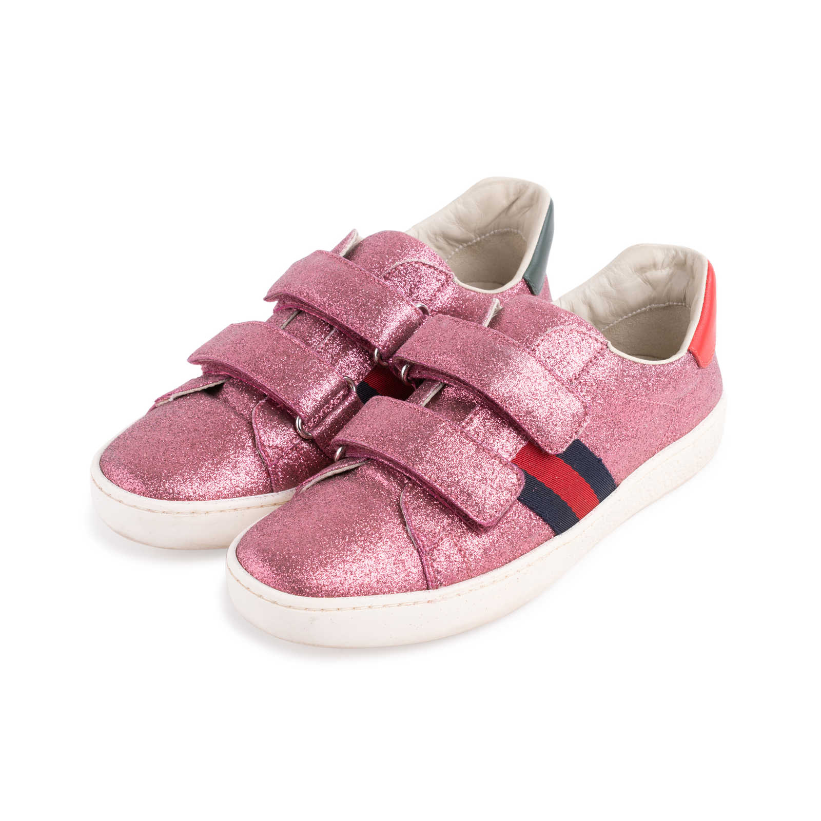 db1e2eb7bba ... Authentic Second Hand Gucci Glitter Ace VL Sneakers (PSS-623-00016) ...
