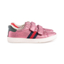 Authentic Pre Owned Gucci Glitter Ace VL Sneakers (PSS-623-00016) - Thumbnail 4