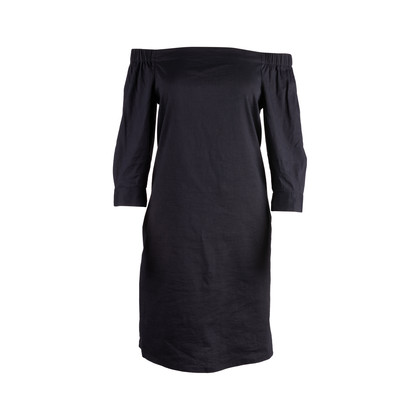 Authentic Second Hand Theory Zizinna Off-the-Shoulder Poplin Dress (PSS-148-00058)