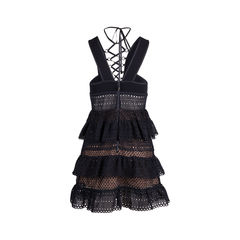 Self portrait lace up mini dress 2?1551328171
