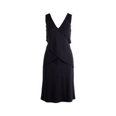 Criss Cross Black Dress