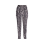 Authentic Second Hand Day Birger et Mikkelsen Printed Brushed-silk Tapered Pants (PSS-004-00096) - Thumbnail 1