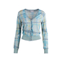 Authentic Second Hand Missoni Sport Strip Knit Cardigan (PSS-004-00099) - Thumbnail 0