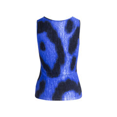 Blumarine printed top blue 2?1551336132
