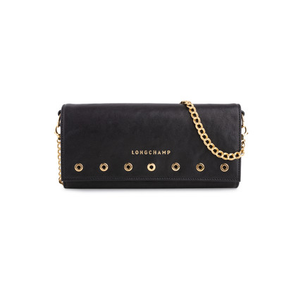 Authentic Second Hand Longchamp Paris Rocks Chain Wallet (PSS-551-00007)