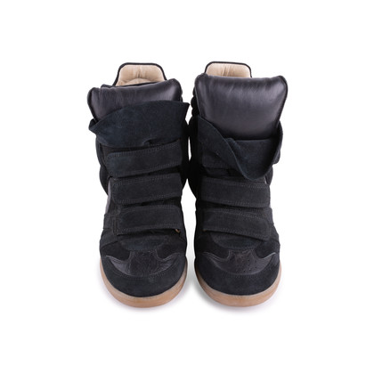 Authentic Second Hand Isabel Marant Bekett Suede Sneakers (PSS-059-00048)