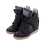 Authentic Second Hand Isabel Marant Bekett Suede Sneakers (PSS-059-00048) - Thumbnail 2