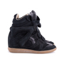 Authentic Second Hand Isabel Marant Bekett Suede Sneakers (PSS-059-00048) - Thumbnail 1