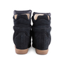 Authentic Second Hand Isabel Marant Bekett Suede Sneakers (PSS-059-00048) - Thumbnail 3