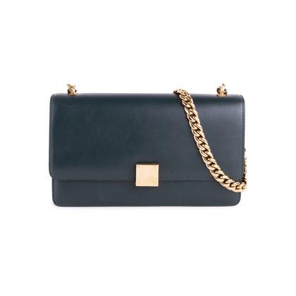 Authentic Second Hand Céline Case Chain Flap Bag (PSS-351-00025)