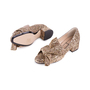 Authentic Second Hand N°21 Glitter Bow Pumps (PSS-351-00026) - Thumbnail 1