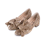 Authentic Second Hand N°21 Glitter Bow Pumps (PSS-351-00026) - Thumbnail 3