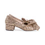 Authentic Second Hand N°21 Glitter Bow Pumps (PSS-351-00026) - Thumbnail 4