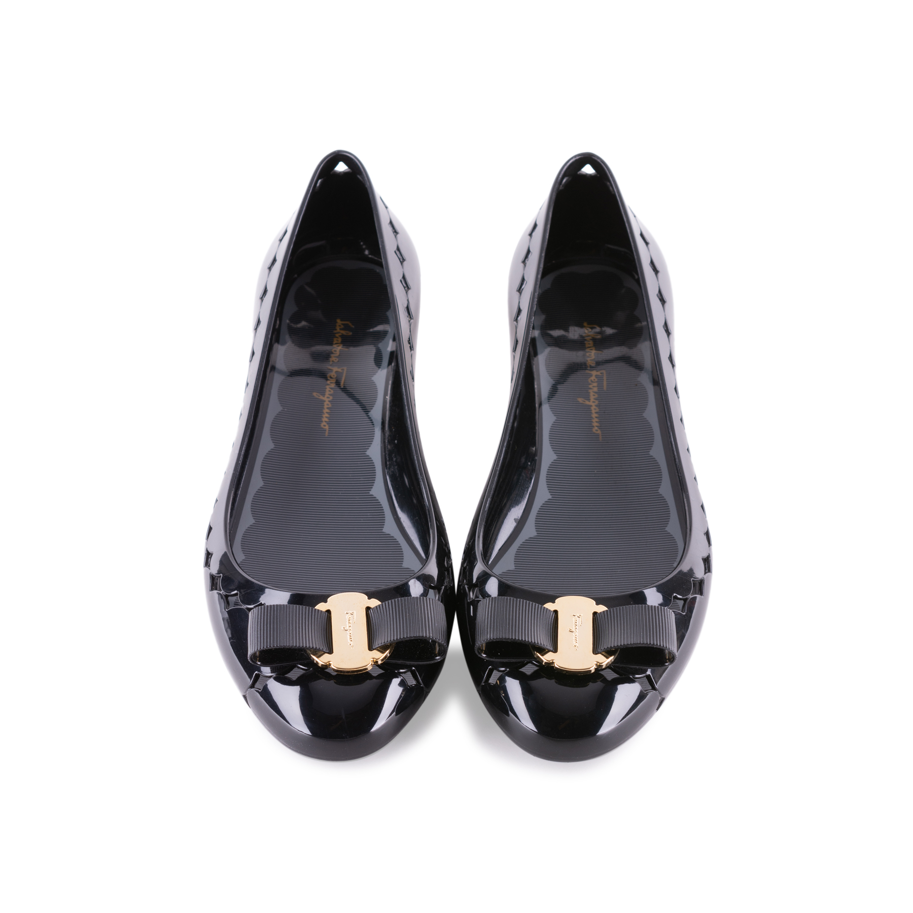5cdc69fb0e Authentic Second Hand Salvatore Ferragamo Flower Heel Jelly Flats  (PSS-431-00008) - THE FIFTH COLLECTION
