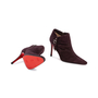 Authentic Second Hand Christian Louboutin Suede Ankle Boots (PSS-618-00001) - Thumbnail 2