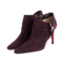 Authentic Second Hand Christian Louboutin Suede Ankle Boots (PSS-618-00001) - Thumbnail 3