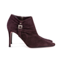 Authentic Pre Owned Christian Louboutin Suede Ankle Boots (PSS-618-00001) - Thumbnail 4