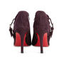 Authentic Second Hand Christian Louboutin Suede Ankle Boots (PSS-618-00001) - Thumbnail 5