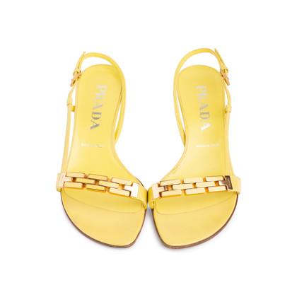Authentic Second Hand Prada Slingback Sandals (PSS-618-00002)