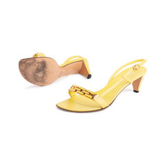 Prada slingback sandals yellow 2?1551758975
