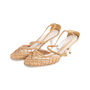 Authentic Second Hand Chanel Lattice Leather Pumps (PSS-618-00003) - Thumbnail 3