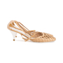 Authentic Second Hand Chanel Lattice Leather Pumps (PSS-618-00003) - Thumbnail 4