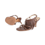 Authentic Second Hand Prada Fringe Leather Sandals (PSS-618-00004) - Thumbnail 1